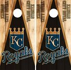 Kansas City Royals Cornhole Skin Wrap MLB Wood Decal Vinyl Board Logo DR587 on Ebay