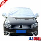 Universal Car Cover Sunscreen Snow Dust Resistant Half body NonWaterproof M/L/XL