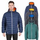 Trespass Whitman II Mens Packaway Down Jacket Puffa Coat With Hood