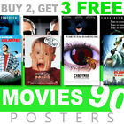 Classic Movie Posters 1990s 90s Poster, A4, A3 270gsm Poster, Prints, Art, Film £7.99 GBP on eBay
