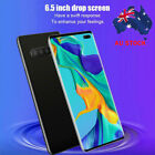 """S10+ 6.5"""" Hd Full Screen Smartphone Fingerprint Face Id Android 9.1 Mobile Phone"""
