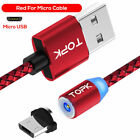 TOPK AM23 LED Magnetic Micro USB Cable for Android 3FT