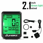 Bicycle Computer LED Digital Wireless/Wired Road Cycling Speedometer
