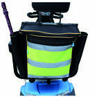 High Visibility Mobility Scooter Standard Bag Set - Rear Bag + 2 Pannier Bags