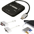 Type C to USB HUB OTG SD TF Card Reader For MACBOOK PC Huawei P20 P30 Samsung S9