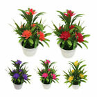 Topiary Artificial Lotus Plant Bonsai Potted Table Simulation Flower Home/Office