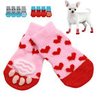 Puppy Shoes Anti Slip Knit Socks Small Dogs Cat Shoes Chihuahua Boots For Indoor