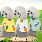 2019Pet Dog Summer Pineapple Comfortable Clothes Puppy Cotton Breathable Vest 41