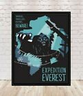 Disney Expedition Everest Poster Sizes 8x10, 11x14, 13x19, 16x20