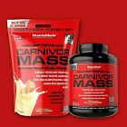 MuscleMeds CARNIVOR MASS 6 or 10 lbs Beef Protein Gainer - Pick Flavor/Size