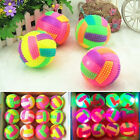 1/2/3 Pet Jumping Activation Ball LED Light Flashing Bouncing Ball Puppy Dog Toy