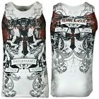 XTREME COUTURE by AFFLICTION Men T-Shirt CARNIVORE TANK Biker MMA Gym S-5XL $33 image
