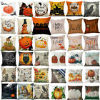 Halloween Christmas Pillow Cover Decor Pillow Case Sofa Waist Throw Cushion Us