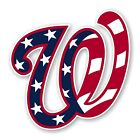 Washington Nationals ( W Flag ) Decal / Sticker Die cut