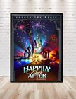 Disney Happily Ever After Poster Fireworks Sizes 8x10, 11x14, 13x19, 16x20 18x24