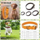 3 Colours Adjustable Medium Small Pet Dog Artificial Leather Collar Buckle Charm