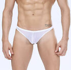 Manview Net G Sheer Pouch Lowrise Thong Underwear 3-Pak