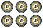 POWERDECAL PWR87001 Decal NBA (R) Series Indiana Pacers Logo Backlit LED 6 PACK on eBay