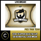 2018-19 UPPER DECK THE CUP 6 BOX (FULL CASE) BREAK #H561 - PICK YOUR TEAM - $294.0 CAD on eBay