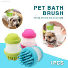 6DCD 2 in 1 Dog Brush Bubble Pet Cleaning Durable Pet Bath Brush