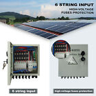 4/6 String Solar PV Combiner Box /Circuit Breakers for 100W Solar Panel US STOCK