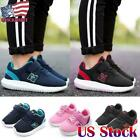 Kids Casual Sports Trainers Shoes Child Boys Girls Breathable Mesh Running Shoes