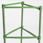 Sturdy Garden Plant Support Stakes Connector Tomato Plant Cage Connector Rod *4X