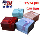 Kyпить 12/24PCS Jewellery Gift Boxes Ring Earring Necklace Jewelry Box Wholesale Case на еВаy.соm