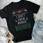 Funny Ugly Christmas Sweater Todd And Margo Couples for Him T-Shirt