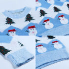 1-Women Lady Christmas Cute Snowman Snowflake Knitted Sweater Girl Warm Pullover