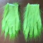 US! Xmas The Grinch Cosplay Mask Glove Costume Christmas How the Grinch Stole