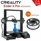Creality Ender 3 Pro/Ender 5 3D Printer DIY Kit + White Filament or Glass Plate