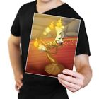 Lumiere the Candlestick from Disney's Beauty and the Beast Poster Print
