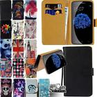 Flip Leather Wallet Stand Cover Phone Case For Doogee X Series Smartphones