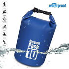 Waterproof 10L 20L Dry Bag Canoe Kayak Boating Camping Swimming Hiking Pouch