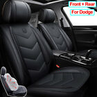 PU Leather Car Seat Cover Car Accessories Fit for Dodge Charger Durango Journey $237.46 CAD on eBay