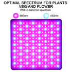 LED Plant Grow Lights Full Spectrum Grow Panel Light 4 Modes for Indoor Plants. Buy it now for 20.89