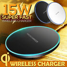 15W Qi Wireless Charging Charger For Pad iPhone 11 Pro XS Max XR