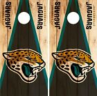 Jacksonville Jaguars Cornhole Skin Wrap NFL Wood Decal Vinyl Board Logo DR619 $39.99 USD on eBay