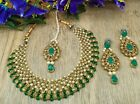 Indian Kundans Jewelry sets kundan stone necklace set bridal Jewelry For women