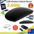 2.4 Ghz Wireless Cordless Mouse Usb Optical Scroll For Pc/laptop/os/windows