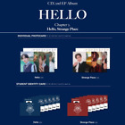 CIX - 2ND EP HELLO CHAPTER 2. HELLO, STRANGE PLACE PHOTO & STUDENT IDENTITY CARD