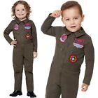 Toddler Officially Licensed Top Gun Fancy Dress Costume Pilot Outfit by Smiffys
