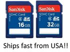 Sandisk SD Card 8GB 16GB 32GB 64GB Memory Card for Cannon Nikon Kodak & Sony
