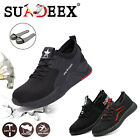 Kyпить Mens Safety Steel Toe Work Shoes Indestructible Boots Outdoor Hiker Sneakers US на еВаy.соm