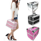 Make up Box Aluminium Vanity Case Extra large Space Cosmetic Nail Storage...