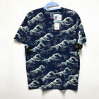 "Uniqlo UT ""Hokusai Blue"" Great Wave Mens T Shirt - Brand New/Sealed (Size XS-XL) image"