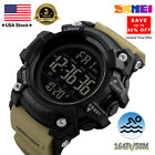 Screen Large Face Men's Watches Waterproof Sport Outdoor LED Digital Wristwatch image