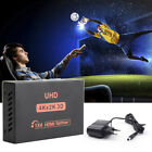 Dual Display 4K Splitter HDMI Switcher 1X4 1X2 UHD Switcher Full HD With Power