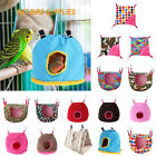 Pet Nest Plush Bird Cave Cage Warm Hanging Sleeping Bed Hut Tent Parrot Hammock